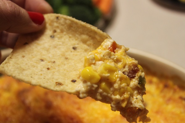 Hot and Cheesy Corn Dip