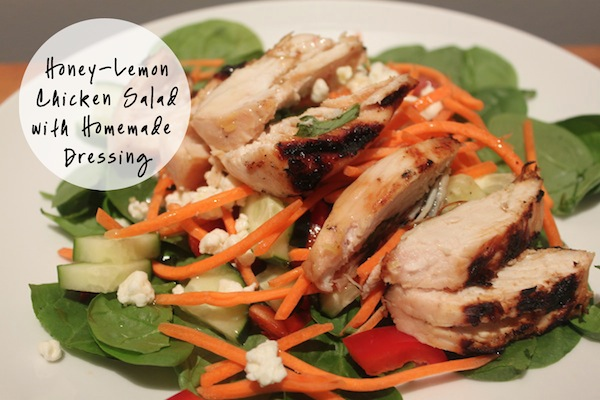 HoneyLemonChickenSalad