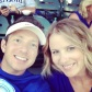 Tim and Me at an I-Cubs Game