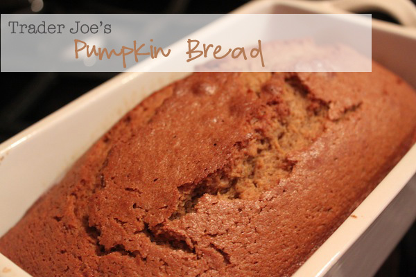 TJ Pumpkin Bread