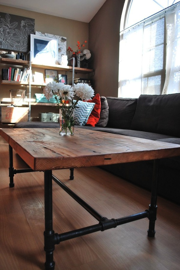 Wooden Industrial Table
