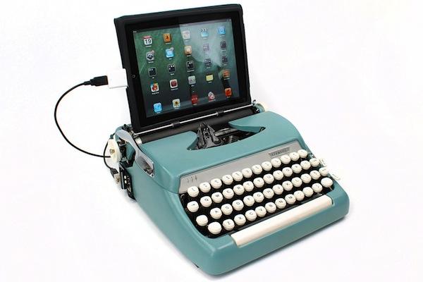 Typewritter I-Pad